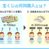 宝くじの共同購入とは?危険性や分配率についても徹底解説。共同購入への参加方法や募集グループの情報も紹介‼️